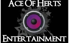 Ace o Herts Entertainment logo
